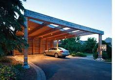 Znalezione obrazy dla zapytania carport wood
