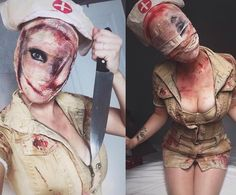 Silent hill nurse by @loudnight  I love this! #silenthill #horror #classichorror by worship13