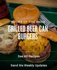 Grilled Beer Can Burger Recipe | Traeger Wood Fired Grills