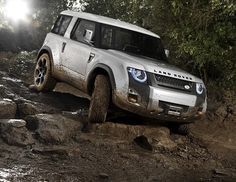 Land Rover DC100 Defender will continue the heritage of a classic with this total remake in 2015.
