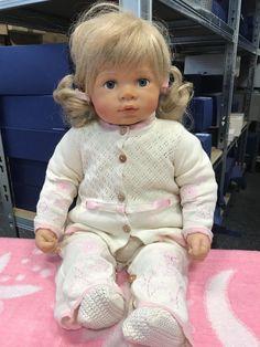 Wiltrud Stein Vinyl Puppe 32 Cm Dolls Top Zustand