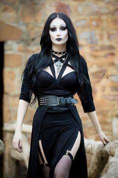 Model: Theblackmetalbarbie Photo: Luke Guinn Photography Welcome to Gothic and Amazing |www.gothicandamazing.com