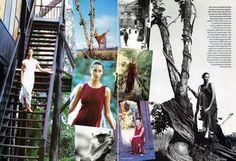 Simply Divine: Christy Turlington by Arthur Elgort, shot in Nepal.  Vogue UK March 1994.