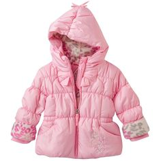 NWT Baby Girls ZeroXposur Rosie Heavyweight Puffer Jacket - Size 24 Months #ZeroXposur #PufferCoat #Everyday
