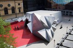 Pavilion 21 Mini Opera Sapce by Coop Himmelblau in Munich, Germany
