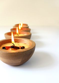 hello autumn! how to make cinnamon beeswax candles