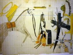 Native+Paths+Old+White+Woman+Ledger+Artist,+Indians,+Horse,+Pelts,+and+Rifles.jpg 1,600×1,200 pixels