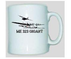 Tasse ME 323 Gigant / mehr Infos auf: www.Guntia-Militaria-Shop.de