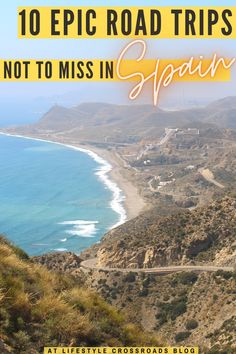 If you're looking for some incredible sceneries, ancient heritage, hidden gems, and comfortable driving - then there's no better place for your vacation than Spain. But before you set off - check these top 10 road trips in Spain to find your perfect match! #Spain #travel #roadtrip   Road trips in Spain  Best Spanish Road Trips   Spain Things to see   Spain places to visit   Spain Travel Beautiful Places   Spain Travel Guide  Europe Travel Destinations   Spain Hidden Gems   Road Trip Packing, Road Trip Essentials, Road Trips, Spain Travel Guide, Europe Travel Tips, Travel Guides, Top Travel Destinations, Travel Info, European Travel