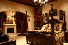 LaWanna Wood Designs, Southern Accents Too - Bedrooms
