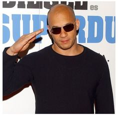 Vin Diesel Vin Diesel The Rock, Astro, Celebs, Celebrities, Celebrity Pictures, Yorkie, Photographs, Mens Sunglasses, Smile