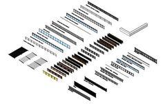 Resultado de imagen de planos de balcones y barandales