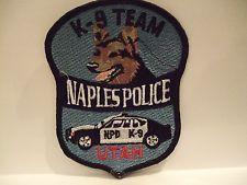 NAPLES POLICE K-9 TEAM  UTAH