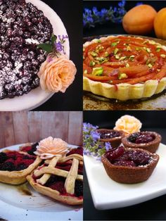 Fruit Tarts, from a Game of Thrones food blog