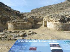 Yacimiento de Contrebia Leucade. Aguilar del Río Alhama (La Rioja). Puerta Norte