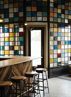 Restaurant Gold Cash Gold Design, commercial, déco, décor, industriel, éclectique