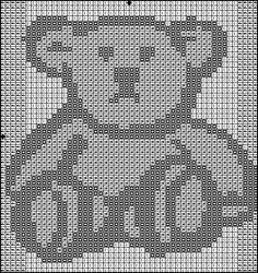 teddy bear for kids  cross stitch