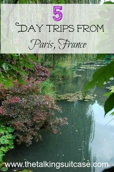 Are you going on a trip to Paris?  See these 5 ideas for day trips from Paris, France.  While the city is gorgeous, there are so many more things to do that are just a car (or train) ride away!