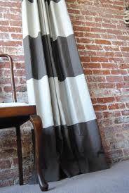 contemporary stripe curtains
