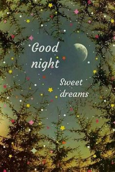 Good night and sweet dreams, Sweetie. Good Night Thoughts, Good Night I Love You, Good Morning Beautiful Images, Good Night Prayer, Good Night Blessings, Good Night Gif, Good Night Quotes Images, Good Night Messages, Good Night Greetings
