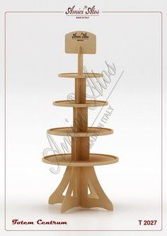 Rak Display, Wood Display Stand, Display Design, Sofa Table Design, Diy Sofa Table, Shop Shelving, Container Shop, Pharmacy Design, Cardboard Display