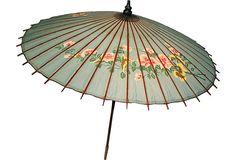 1940s Vintage Japanese Umbrella