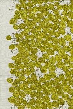Design by Mid-Century Finnish-Swedeish textile designer Viola Grasten, via Designarkivet.