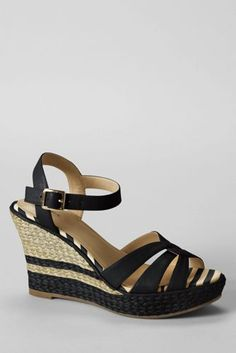 Women's Simona Wedge Sandals from Lands' End