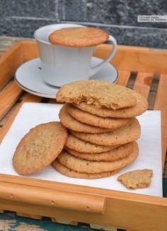 Coconut Cookies, Sugar Cookies, Cookie Recipes, Dessert Recipes, Spanish Desserts, Delicious Desserts, Yummy Food, Decadent Cakes, Peruvian Recipes