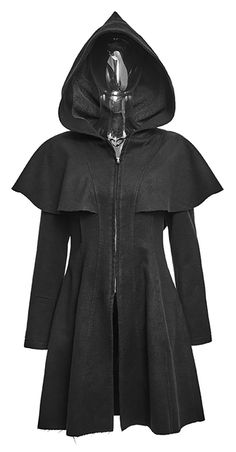 Remis en stock   Back in stock  Black jacket with pointed hoodie elf witch  occult gothic Prix  EMEL · VETEMENTS FEMME 516b5dfb4de