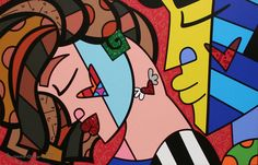Britto Gallery, Pop Art Painting