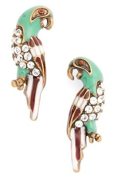 MARC JACOBS Parrot Stud Earrings available at #Nordstrom