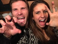 Nina Dobrev and Scott Eastwood Take the Greatest Selfie Ever (PHOTO)