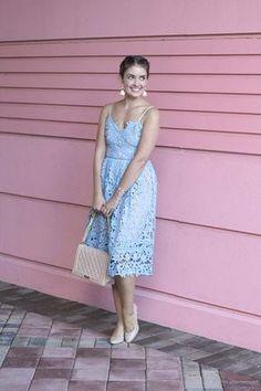 e7f0d856b8a 7 Stunning Wedding-Guest Dresses You Need for Summer. Robes Longues BleuRobe  ...