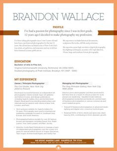 How To Layout A Resume Resume Layout Jennifer Horning  Darn Good Ideas  Pinterest .