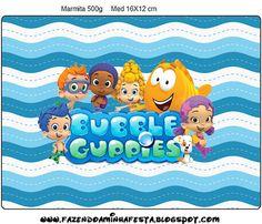 mini M&M tube wrapper Bubble Guppies, Birthday List, 2nd Birthday, Happy Birthday, Party Printables, Free Printables, Candy Bar Labels, Guppy, Birthday Decorations