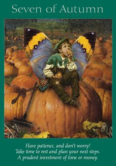 Oracle Card Seven of Autumn | Doreen Virtue | official Angel Therapy Web site