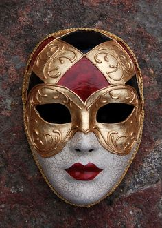 Venetian Masquerade Mask by AnotherFaceStudio on Etsy, $48.00