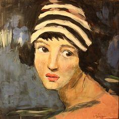 Portrait of a Young Woman by Kathie Vezzani  www.kathievezzani.com