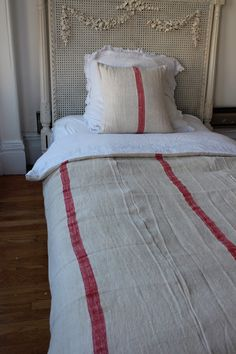 Grain Sack Duvet Cover Twin  love!!!! for daybed