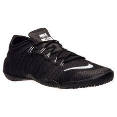 Nike-Free-1-0-Cross-Bionic-NEW-Women-Sz-6-6-5-7 -5-Black-Metallic-Silver-CrossFit ac0bb4c23