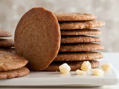 """The White House's Molasses Spice Cookies """"Gingersnaps"""""""