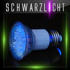 OMNILUX JDR 230V E27 18 LED UV aktiv Schwarzlicht Leuchtmittel | eBay