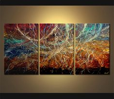 Original abstract art paintings by Osnat - 1 modern painting