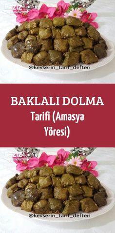 Baklalı Dolma Tarifi (Amasya Yöresi) – Sarma ve dolma tarifi – Las recetas más prácticas y fáciles Dog Food Recipes, Cooking Recipes, Stuffing Recipes, Turkish Recipes, Hot Pot, Homemade Beauty Products, Food Art, Brunch, Food And Drink