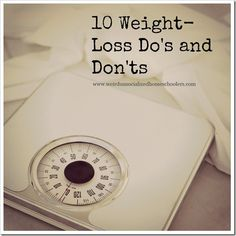 [dropcap]S[/dropcap]ince losing nearly 90 pounds, it probably comes as no surprise that I am often asked how to lose weight. I've offered weight-loss tips before and shared some of my favorite healthy meals. However, some of my basic do's and don