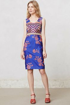 Sarita Dress #anthropologie  next project for the tailors... I have the perfect fabric!