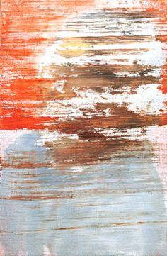 Alex Jackson - Head #3, oil & aerosol on canvas board