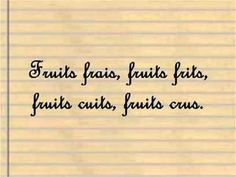 Les virelangues en français - tongue twisters in French Ap French, Core French, French Class, French Teaching Resources, Teaching French, How To Speak French, Learn French, French Quotes, French Sayings