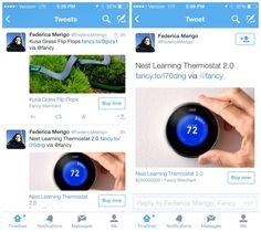 #Twitter prueba un botón para comprar en su aplicación para móviles